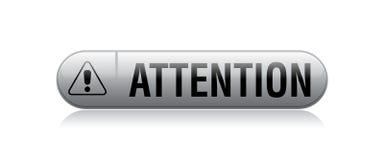 Het teken van de aandachtsuitroep vector illustratie