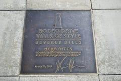 Het teken van de Aandrijving van de rodeo Royalty-vrije Stock Afbeeldingen