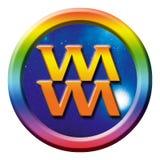 Het teken van de astrologie van Waterman vector illustratie