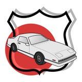 Het teken van de auto Stock Afbeeldingen