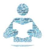 Het Teken van de bibliotheek vector illustratie