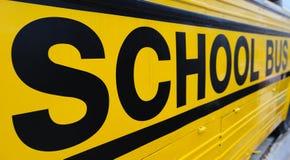 Het Teken van de Bus van de school Royalty-vrije Stock Foto's
