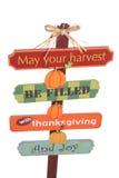Het Teken van de dankzegging Stock Foto's