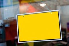 Het teken van de deur Stock Foto's