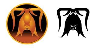 Het Teken van de Dierenriem van de Stier royalty-vrije illustratie