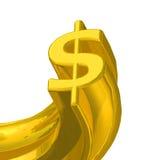 Het teken van de dollar Royalty-vrije Stock Afbeeldingen