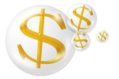 Het teken van de dollar Stock Afbeelding