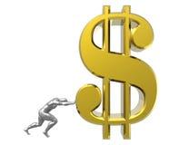 Het teken van de dollar Royalty-vrije Stock Afbeelding