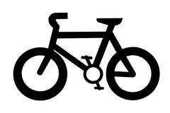 Het teken van de fiets royalty-vrije illustratie