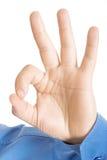 Het teken van de hand Stock Afbeeldingen