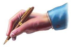 Het teken van de hand royalty-vrije stock afbeeldingen
