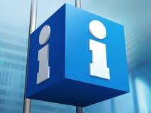 Het teken van de informatie Royalty-vrije Stock Afbeeldingen