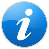 Het teken van de informatie Stock Foto's