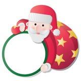 Het teken van de kerstman Stock Foto's
