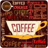 Het teken van de koffie Stock Foto's
