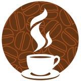 Het teken van de koffie Stock Foto
