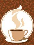 Het teken van de koffie Stock Afbeeldingen
