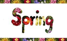 Het teken van de lente royalty-vrije stock foto's