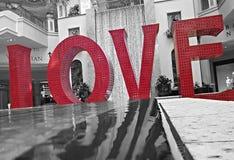 Het teken van de liefde Stock Afbeelding