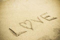 Het teken van de liefde Stock Foto's