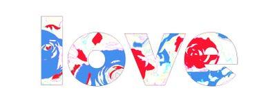 Het teken van de liefde stock illustratie