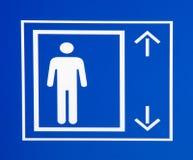 Het teken van de lift Stock Fotografie