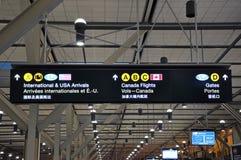 Het teken van de luchthaven Royalty-vrije Stock Foto