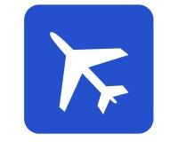 Het teken van de luchthaven Stock Illustratie