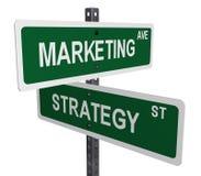 Het teken van de marketing Stock Afbeelding