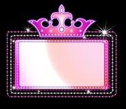 Het teken van de markttent royalty-vrije illustratie