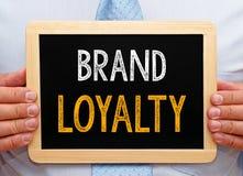 Het teken van de merkloyaliteit Royalty-vrije Stock Foto's