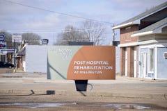 Het Teken van de Millingtongezondheidszorg, Millington, TN stock foto's