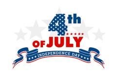 Het Teken van de onafhankelijkheidsdag royalty-vrije stock foto