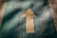 Het Teken van de pijl Stock Foto