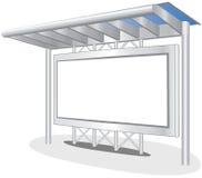 Het Teken van de reclame stock illustratie