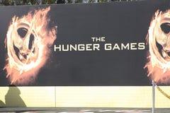 Het teken van de Spelen van de honger stock afbeelding