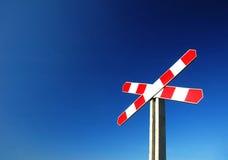 Het teken van de spoorweg Royalty-vrije Stock Foto