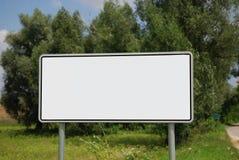 Het teken van de stad Royalty-vrije Stock Afbeelding