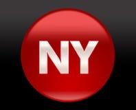 Het teken van de Stad van New York Stock Foto