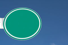 Het teken van de straat Stock Afbeelding
