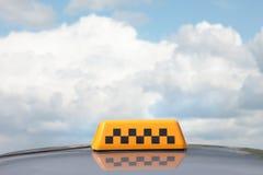 Het teken van de taxi Royalty-vrije Stock Afbeelding