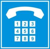 Het teken van de telefoon Royalty-vrije Stock Afbeelding