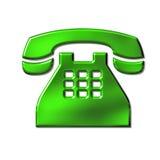 Het teken van de telefoon stock illustratie