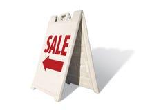Het Teken van de Tent van de verkoop royalty-vrije stock afbeeldingen