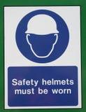 Het teken van de veiligheid Stock Foto's