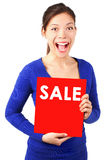 Het teken van de verkoop Stock Foto's