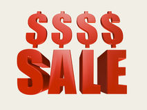 Het Teken van de verkoop Royalty-vrije Stock Afbeeldingen