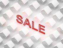 Het teken van de verkoop Stock Afbeeldingen
