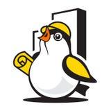 Het teken van de vogelbouw Royalty-vrije Stock Afbeeldingen
