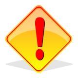 Het Teken van de voorzichtigheid Stock Fotografie